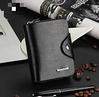 Портмоне кошелек Baellerry DXW001Bl_V черный вертикальный, фото 1