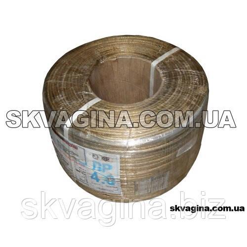 Трос латунированный в ПВХ оплетке (толщ 4 мм)