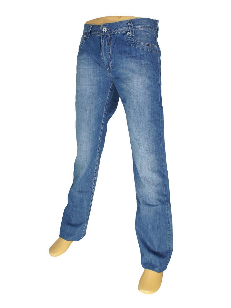 Мужские джинсы Cen-cor CNC-1045 синего цвета
