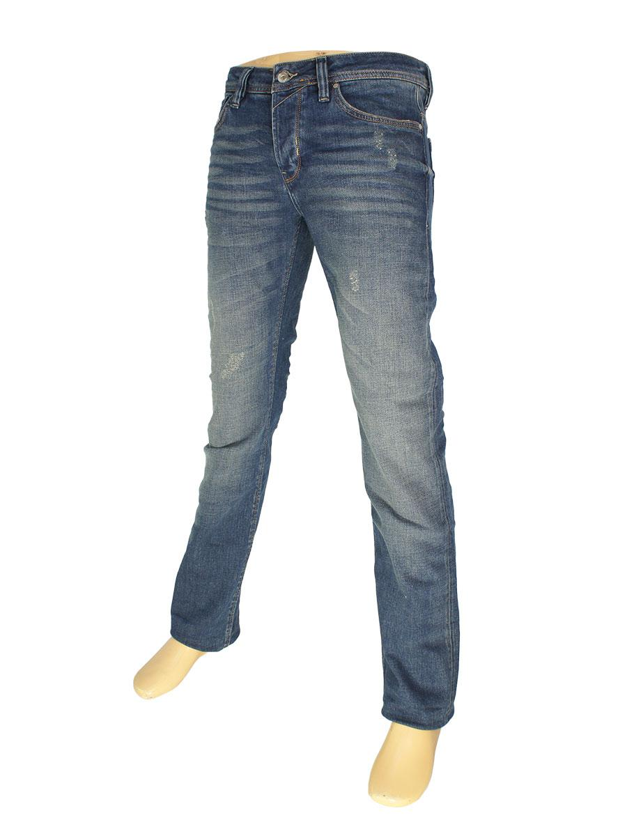 Стильные мужские джинсы Rapidity 0903 синего цвета