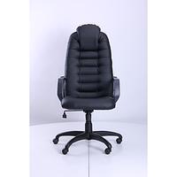 Кресло Тунис Пластик Флекс-кожа черная Лайт (AMF-ТМ)