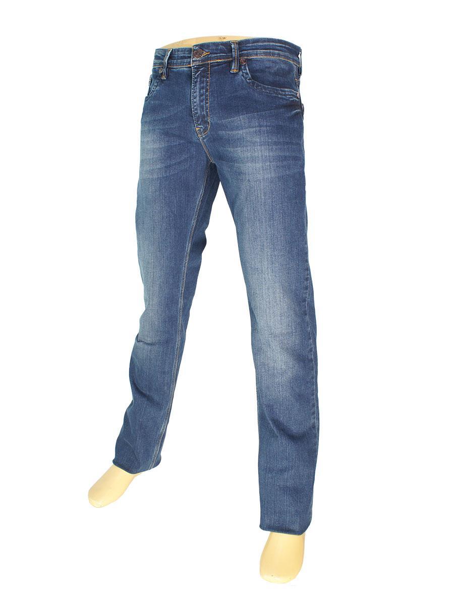 Синие мужские джинсы X-Foot 140-2065