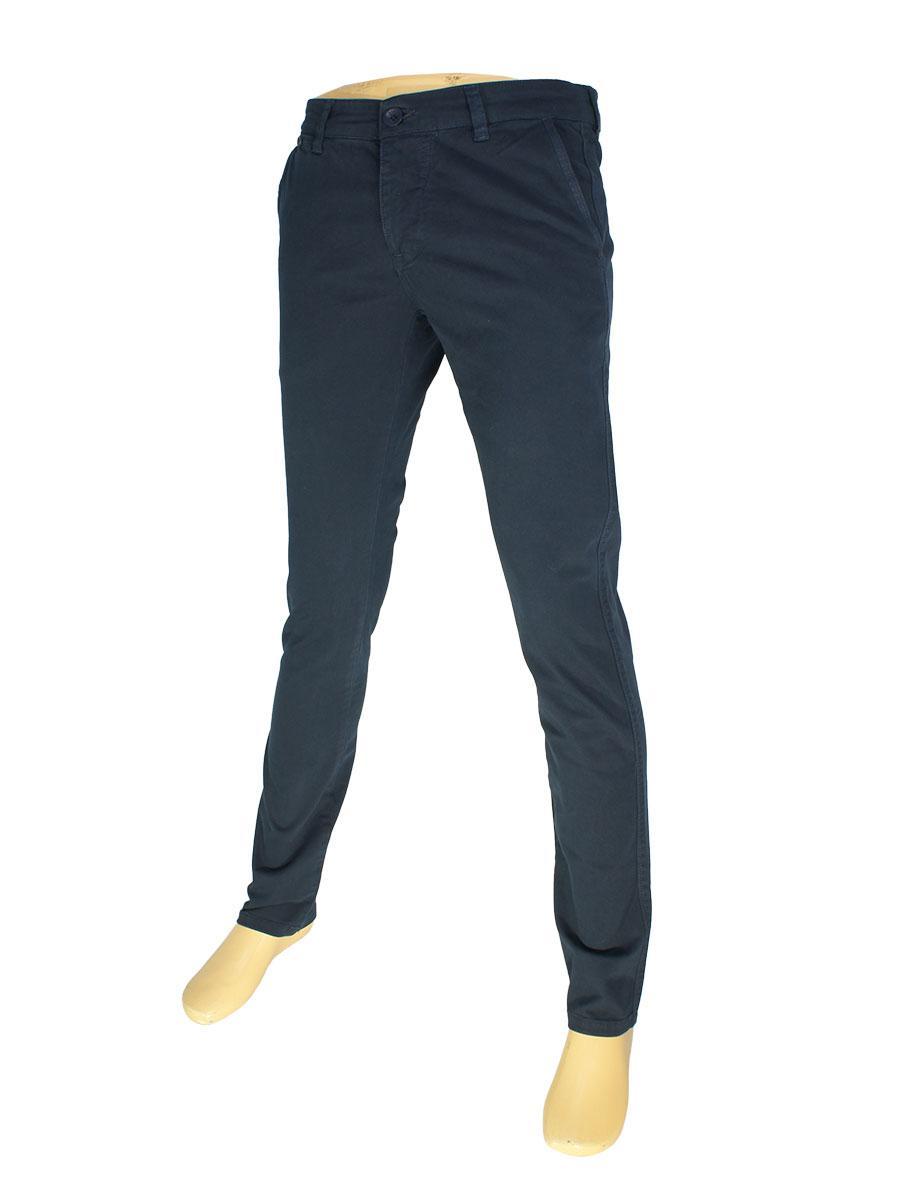 Мужские джинсы X-Foot 170-7003 в темно-синем цвете