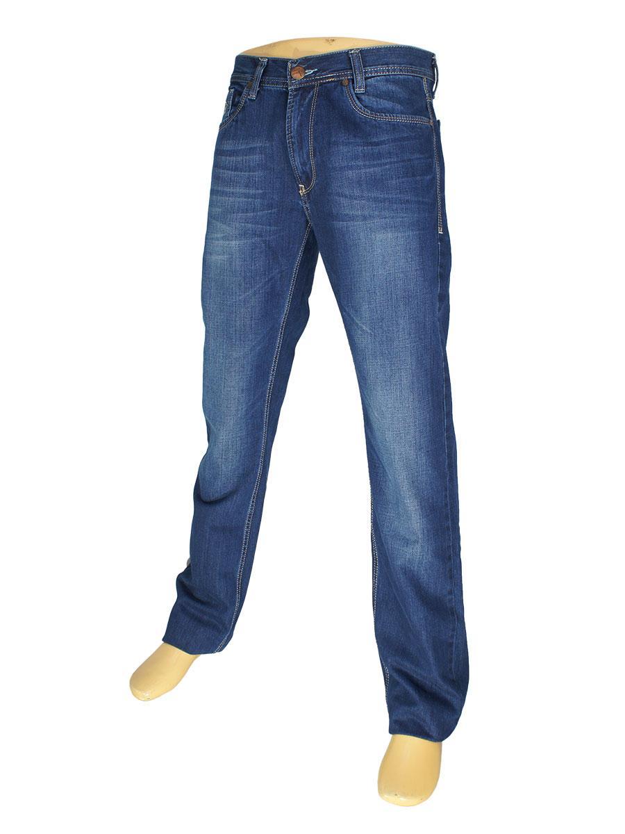 Мужские джинсы Cen-cor CNC-1265 синего цвета