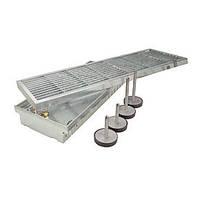 Комплект SitaDrain для регулировки дренажного желоба по высоте 105-150мм, нерж. сталь, фото 1