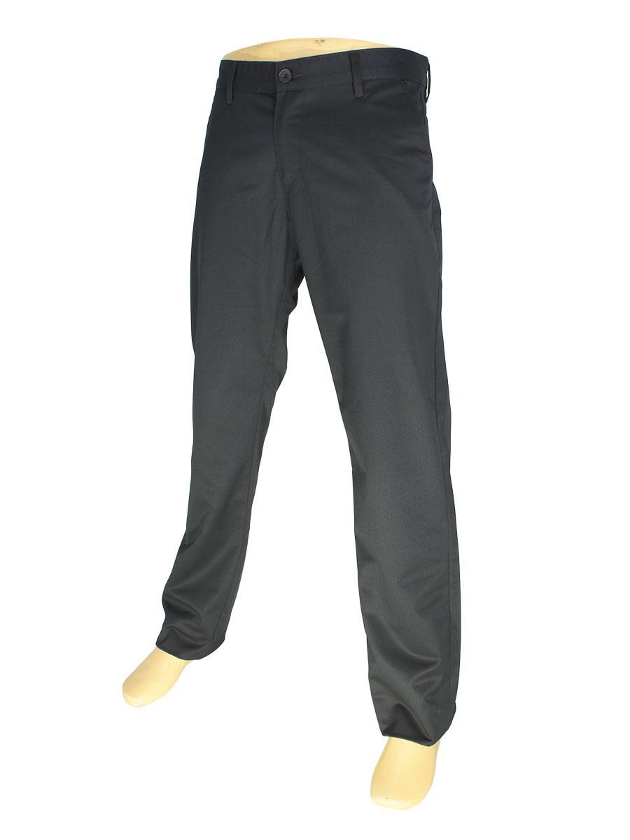 Мужские брючные джинсы NAX  150-5036 в черном цвете