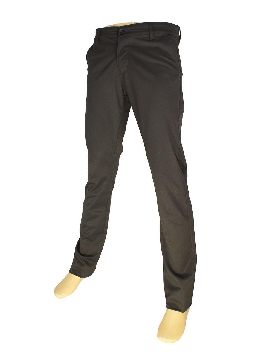 Коричневые мужские брючные джинсы NAX 180-5011