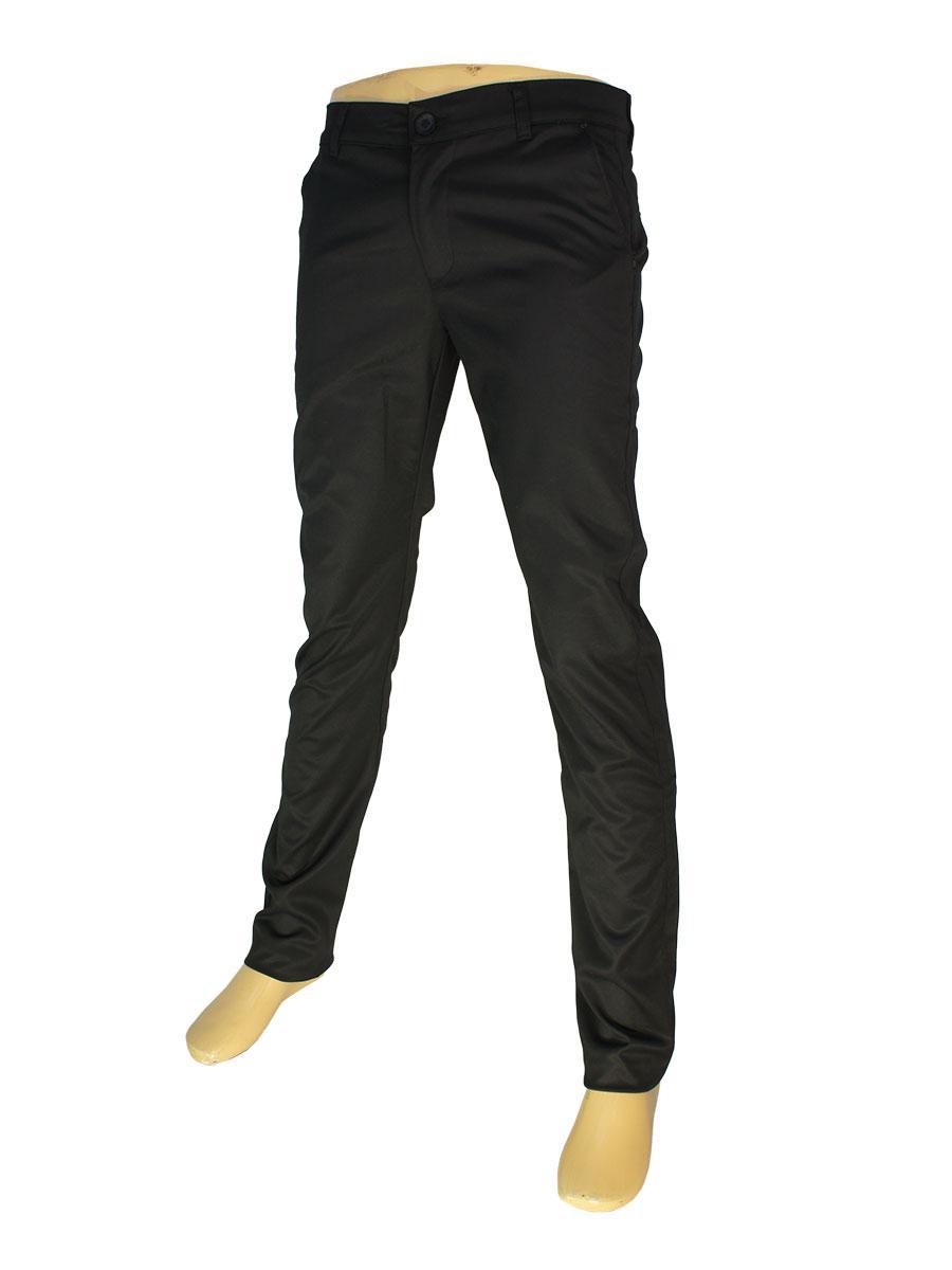 Зауженные мужские джинсы Cen-cor CNC-9062 черного цвета