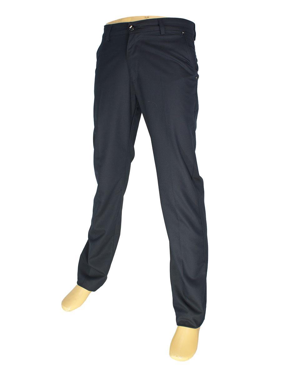 Мужские брючные джинсы Mirac M:2524 P.N.225 в черном цвете