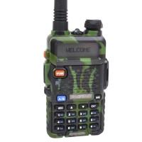 Рація Baofeng UV-5R (5W, VHF/UHF, 136-174 Мгц/400-470 MHz, до 5 км, 128 каналів, АКБ), камуфляжна