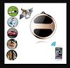 Универсальный брелок кулон GPS-трекер Т8s для детей, пожилых людей, транспорта, грузов T8s mini, фото 3