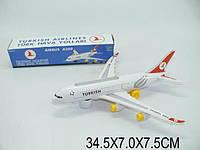 Самолет детский свет, звук, 616-TK