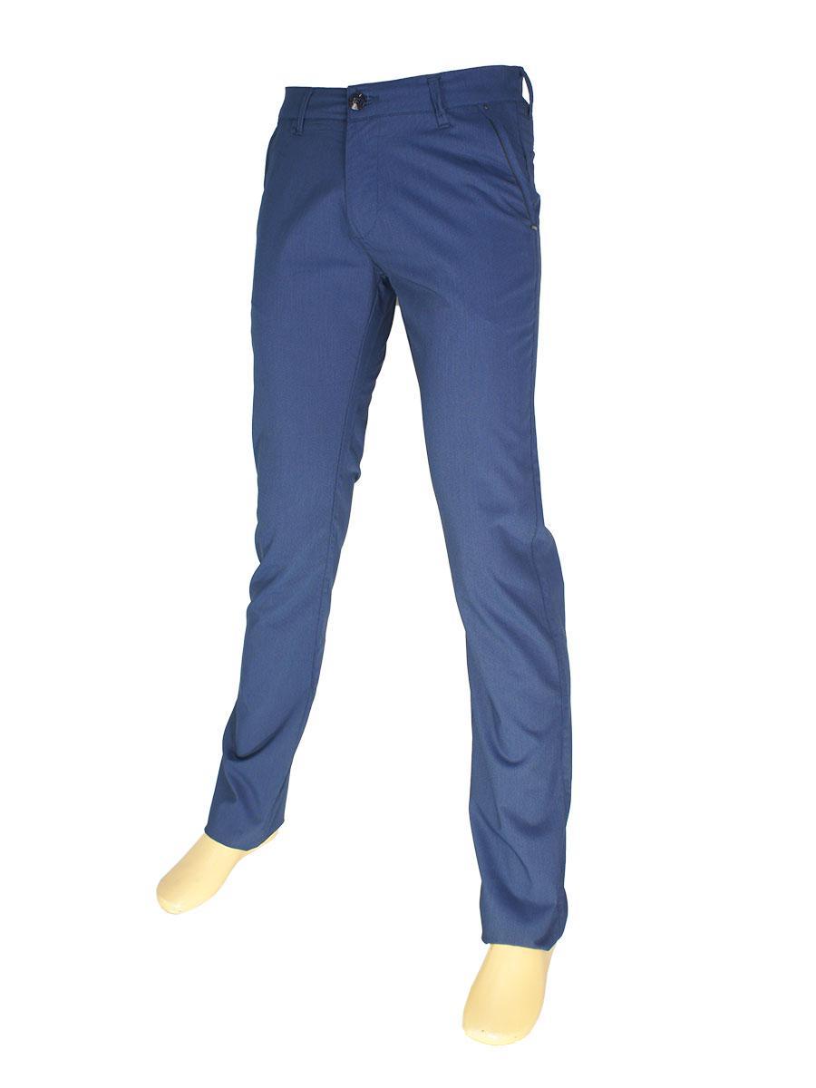 Чоловічі брючні джинси X-Foot 160-3034 синього кольору