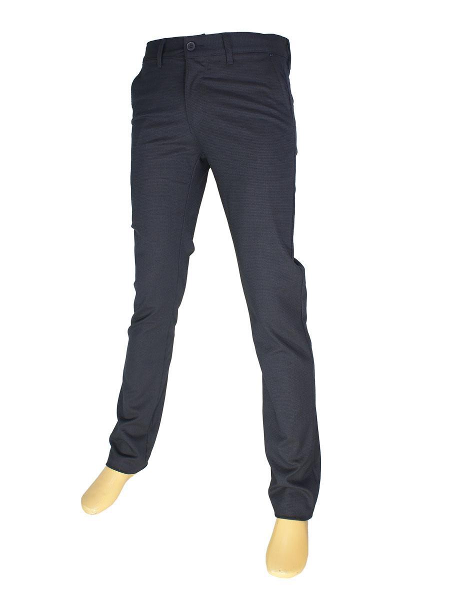 Стильні чоловічі джинси NAX 170-5032 темно-синього кольору