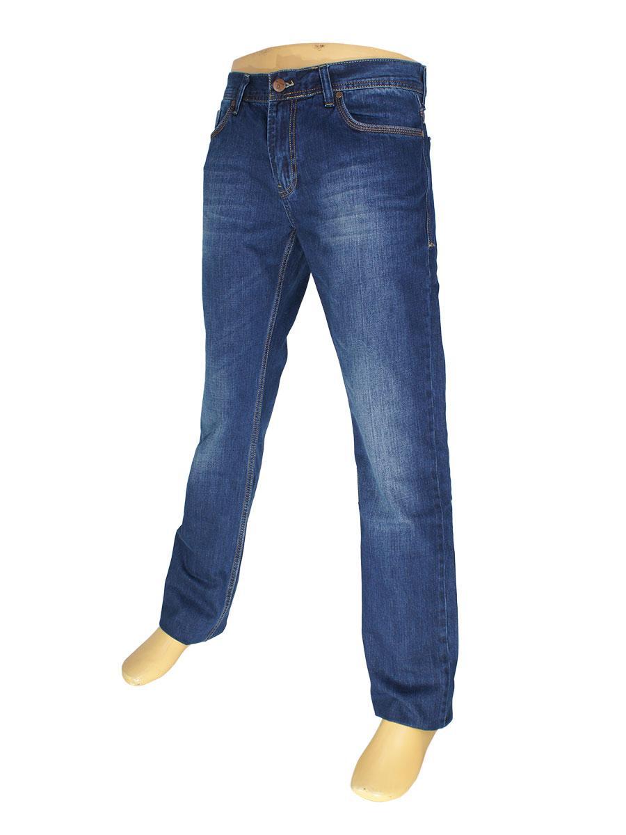 Стильні чоловічі джинси Cen-cor CNC-5001 синього кольору