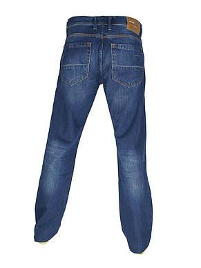 Стильні чоловічі джинси Cen-cor CNC-5001 синього кольору, фото 3