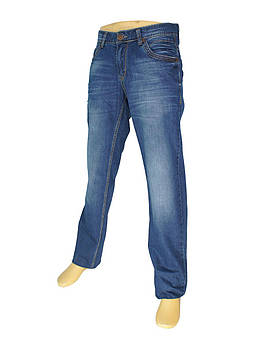 Стильні чоловічі джинси X-Foot 140-1805 синього кольору