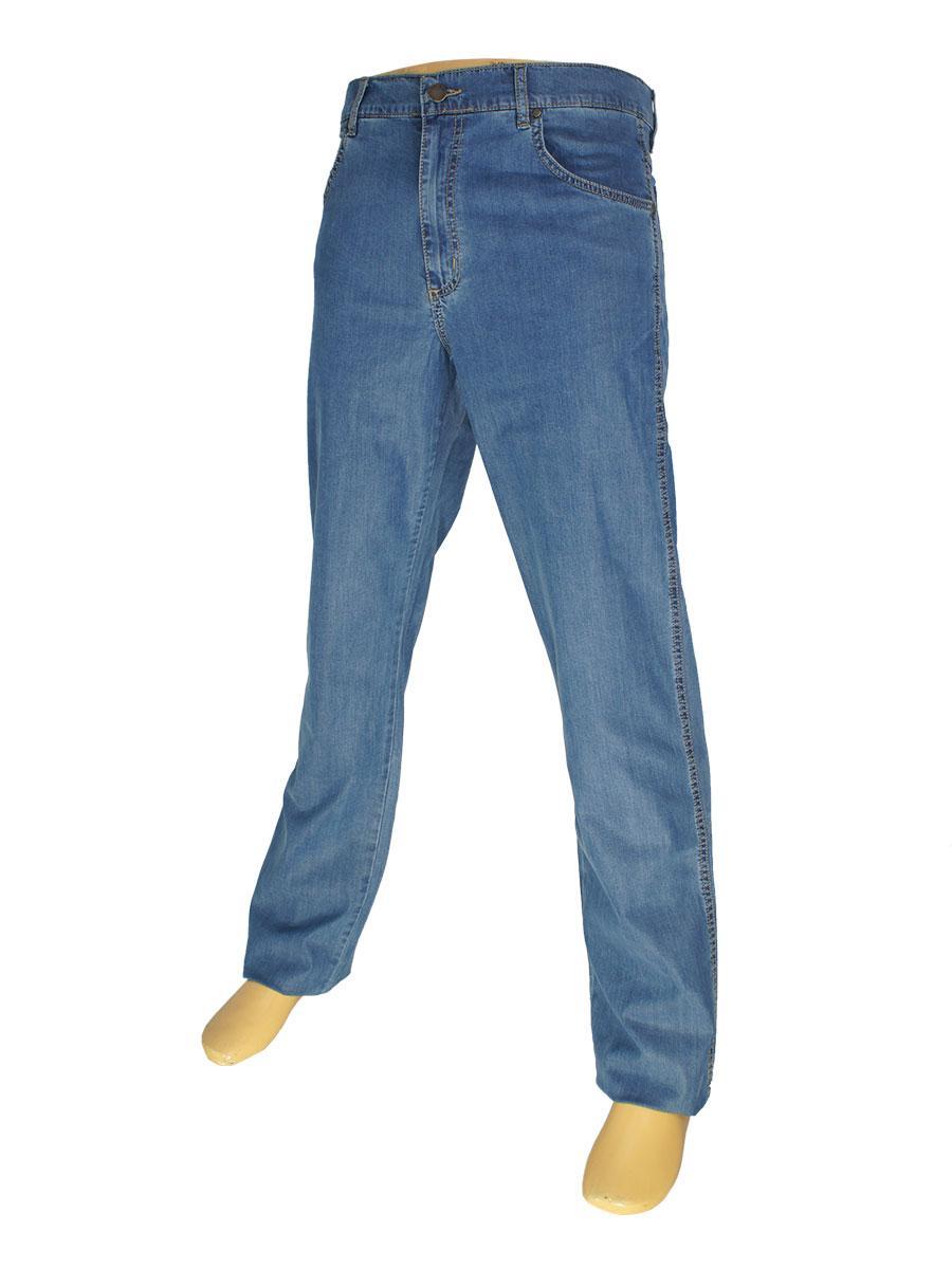 Класичні чоловічі джинси Lexus 347 P / 7052 синього кольору