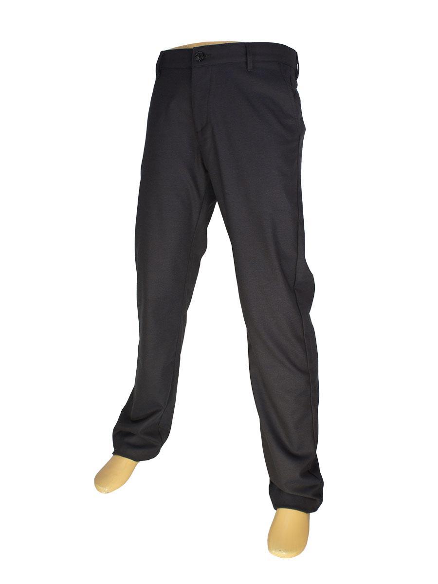 Чоловічі брючні джинси X-Foot 150-3101 в коричневому кольорі
