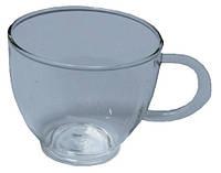 Чашка стеклянная для чая, 100 мл, 90х55х60