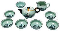 Набор для чайной церемонии, чайник, пиалы 6 шт, чахай, сито 340х230х105