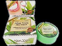 Отбеливающая зубная паста с Алое Вера Aloe Vera Herbal Toothpaste