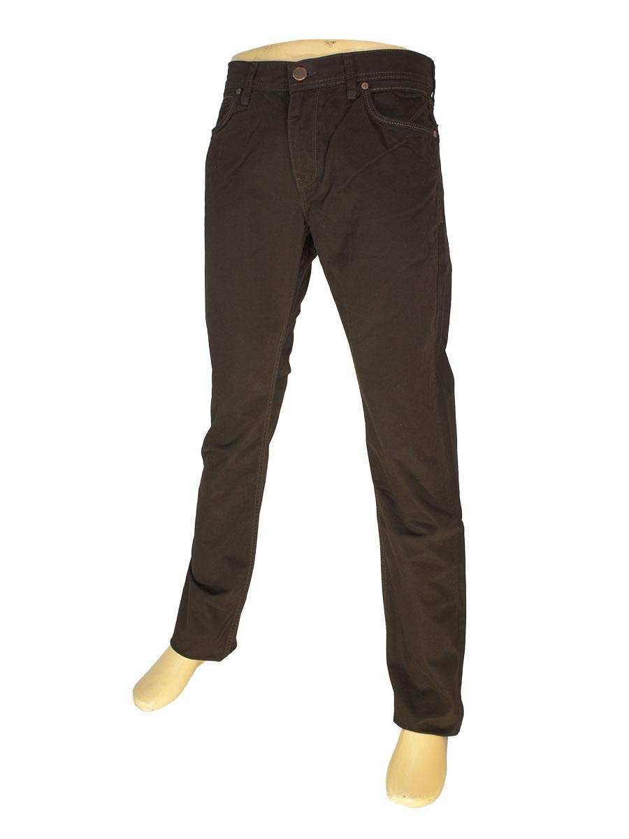 Чоловічі джинси Cen-cor CNC-1297-А темно-коричневого кольору