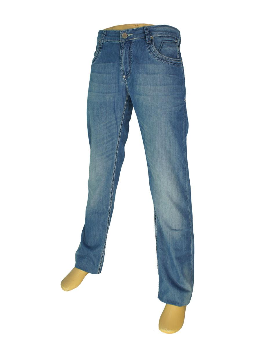 Чоловічі джинси Differ E-1823 SP.0371 блакитного кольору
