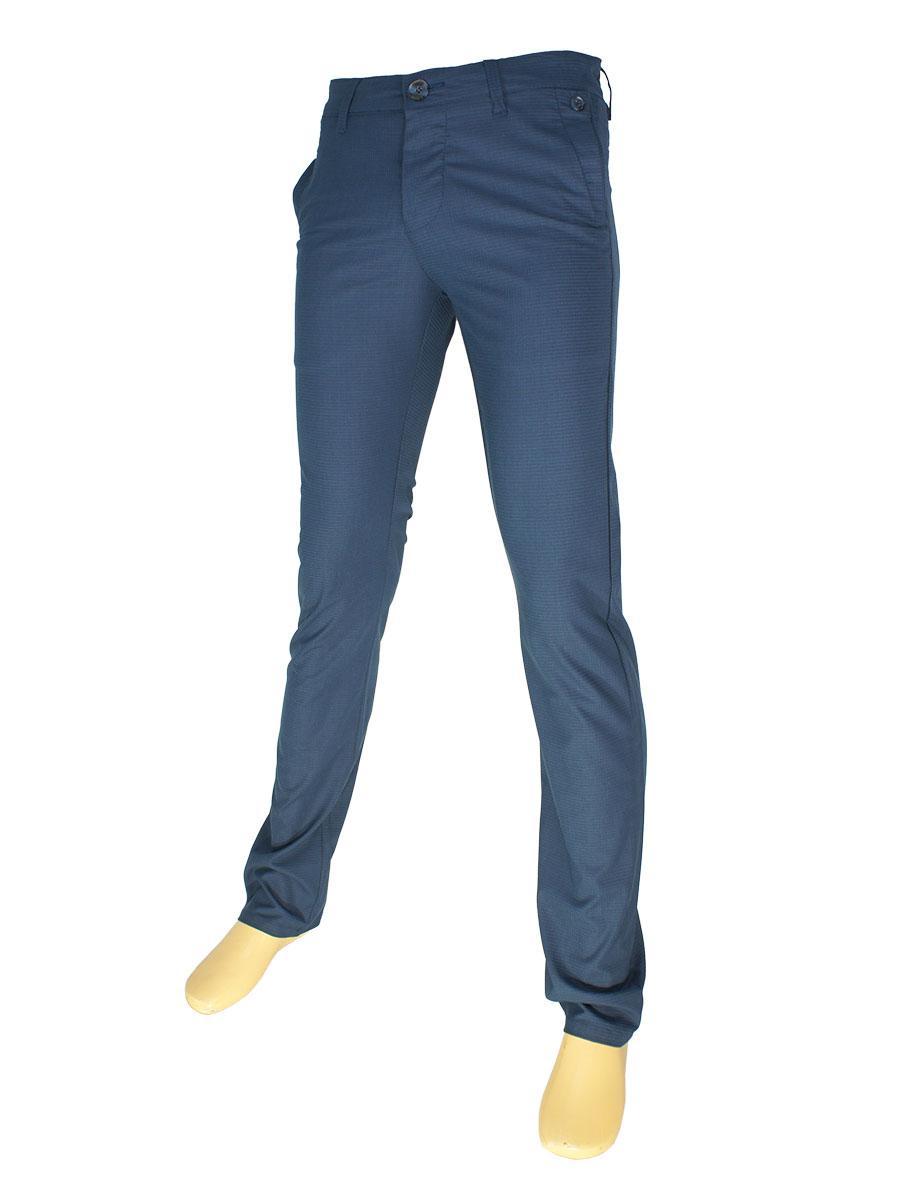 Молодіжні чоловічі джинси X-Foot 170-1589 в темно-синьому кольорі