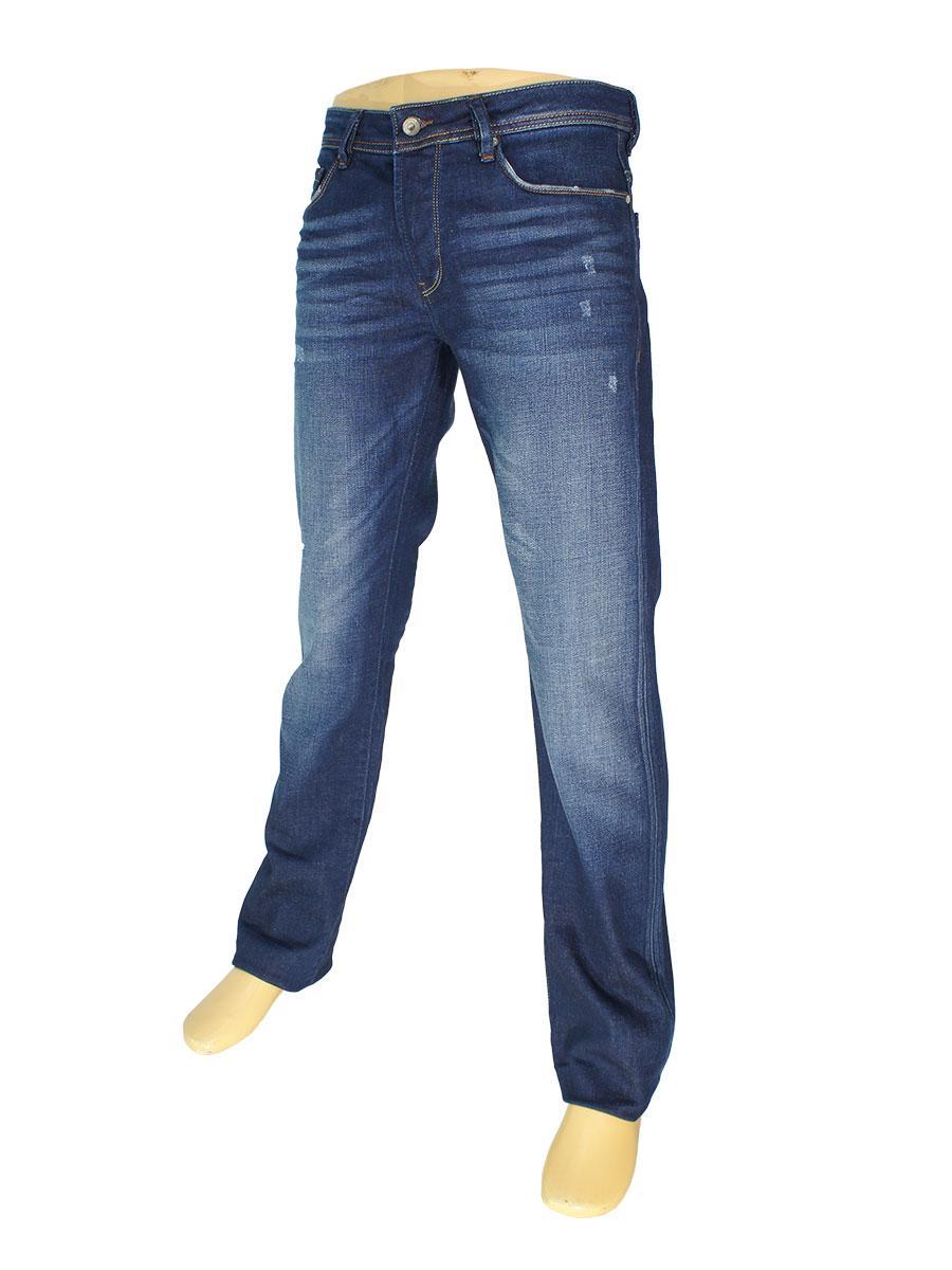 Чоловічі джинси Rapidity 0902 в темно-синьому кольорі