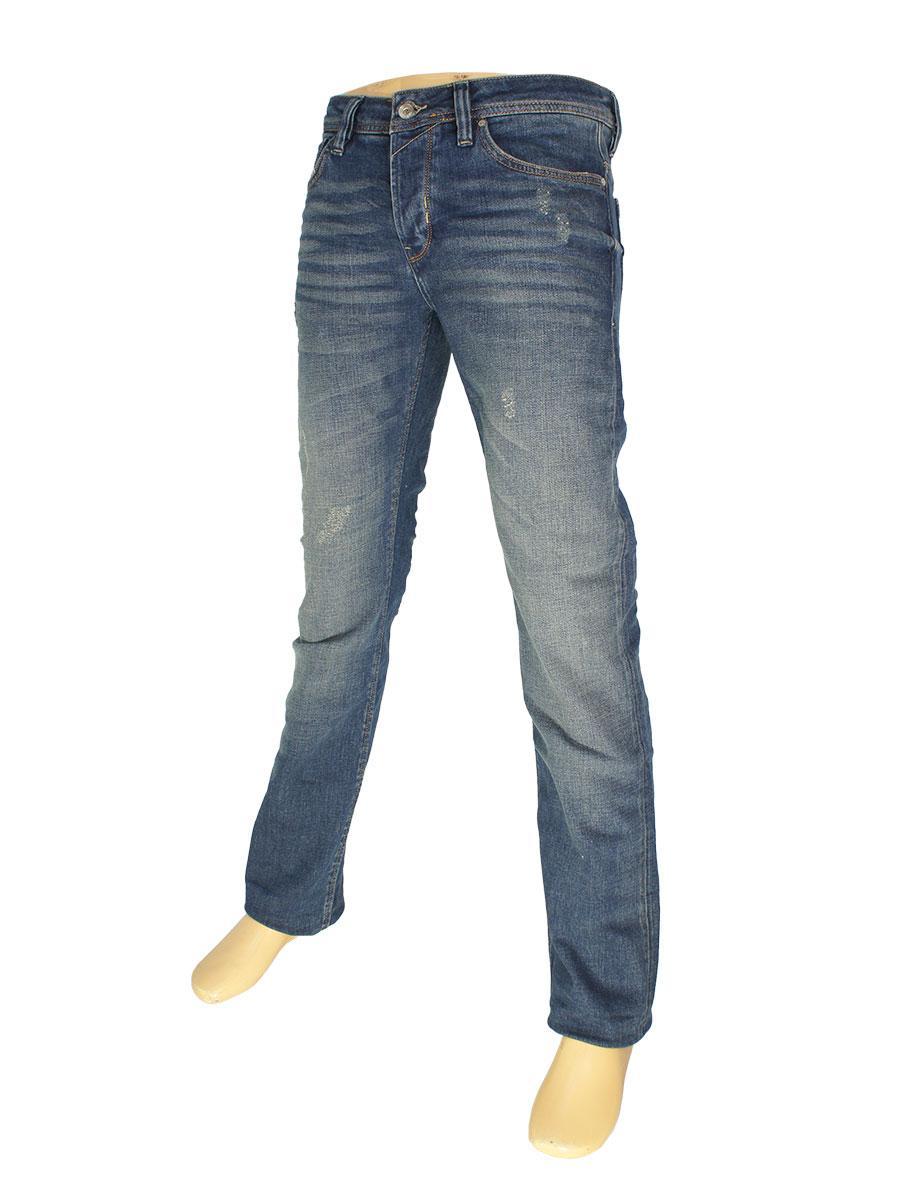 Стильні чоловічі джинси Rapidity 0903 синього кольору