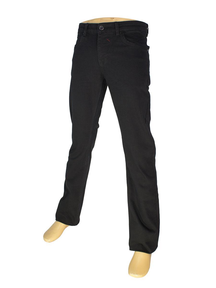 Чоловічі чорні джинси Differ E-2355 SP.NO 0291