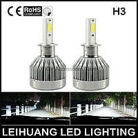Светодиодная лампа H3 LED, ближний свет 20Вт, цена за 1 штуку