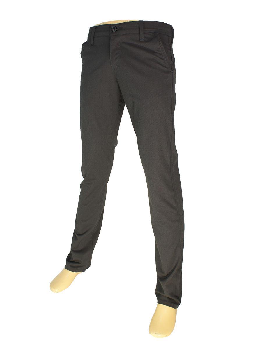 Чоловічі джинси X-Foot 3066 коричневого кольору