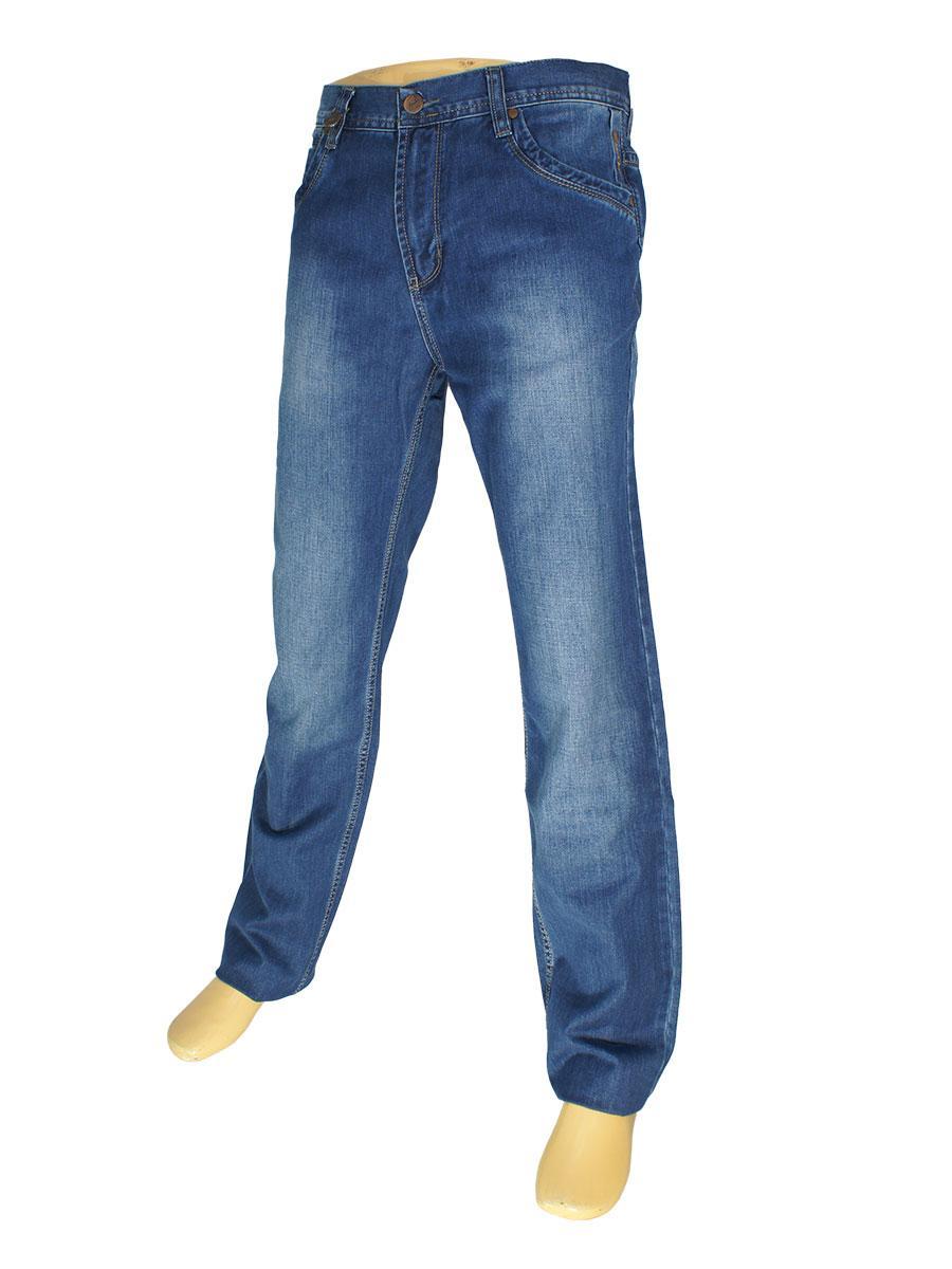 Стильні чоловічі джинси Mirac M:2293 P. N. 515 в синьому кольорі