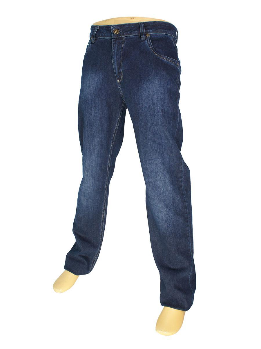 Чоловічі класичні джинси Mirac M: 2456 P.N.409 у темно-синьому кольорі