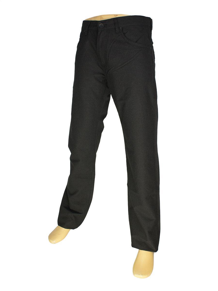 Чоловічі джинси Cen-cor MD-1017-S в чорному кольорі