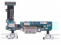 Шлейф для Samsung G900F Galaxy S5, с разъемом зарядки, кнопкой меню (Home), сенсорными кнопками, микрофоном