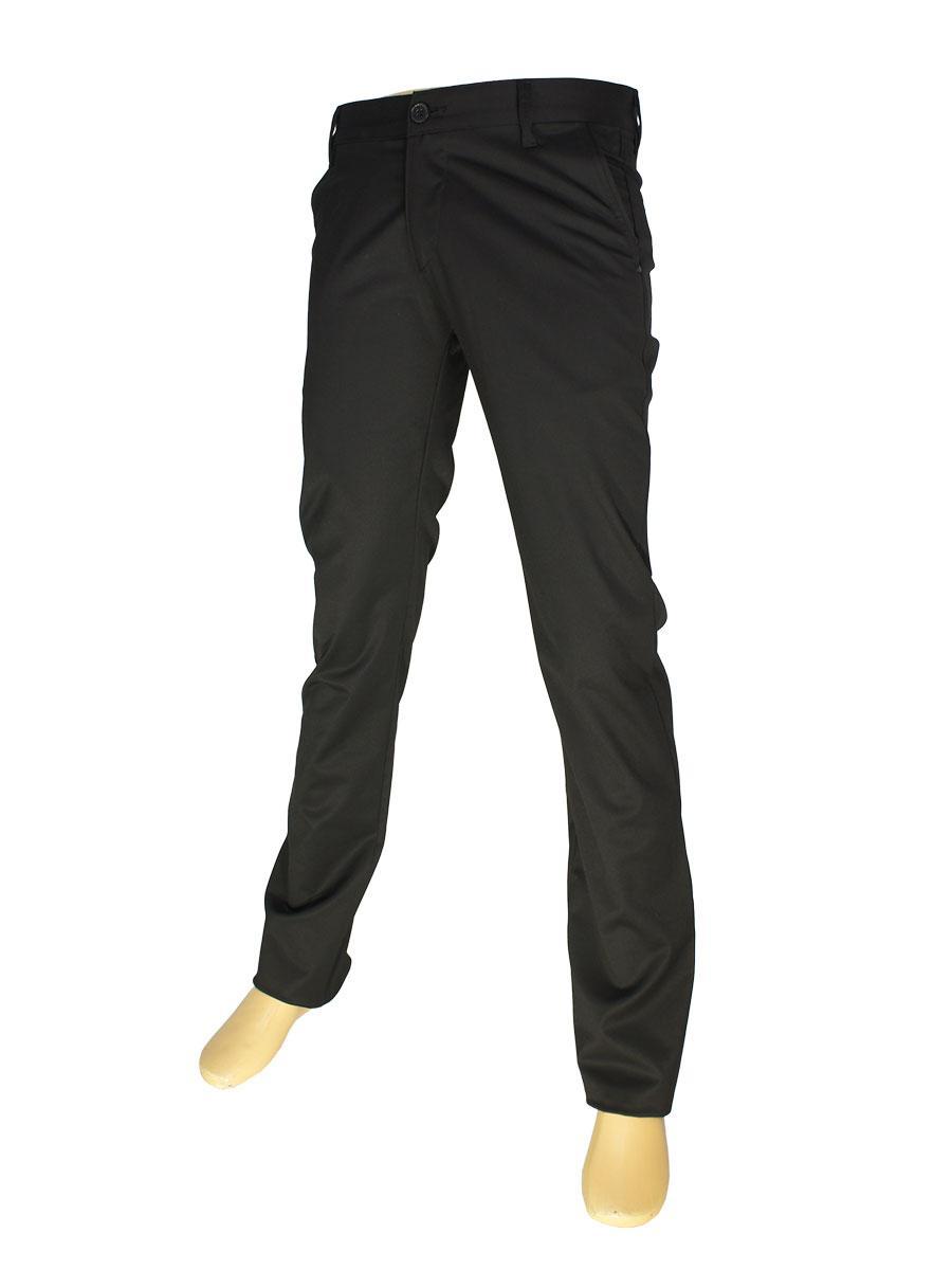 Чорні чоловічі брючні джинси NAX 190-5035
