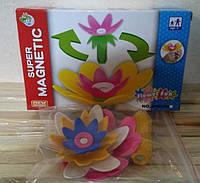 Магнитный конструктор Цветок из 5 элементов