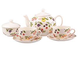 """Чайный набор на 6 персон Lefard """"Фрут сизон"""" 910-090"""