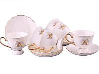 """Фарфоровый чайный набор на 6 персон """"Принцесса"""" Lefard 264-409"""