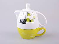 "Чайный набор Эгоист"" (чашка + чайник) 398-141"