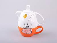 "Чайный набор Эгоист"" (чашка + чайник) 398-142"