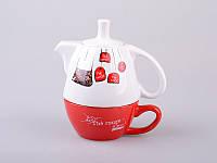 "Чайный набор Эгоист"" (чашка + чайник) 398-143"