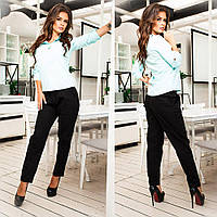 Стильные женские брюки с карманами