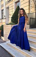 Невероятно красивое вечернее платье из шелка 421 МВ