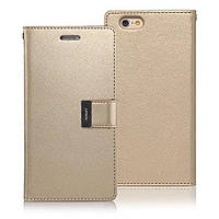 Книжка Goospery Rich Diary Wallet Case Meizu U20 Gold