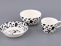 """Фарфоровый набор детской посуды 3 пр-та """"Ласунка"""" 359-302"""