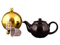 Заварочный чайник Lefard 750 мл с ситечком и колпаком 470-148